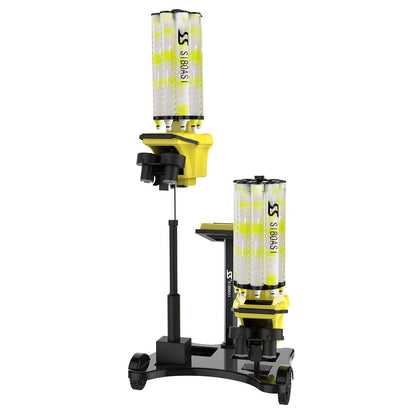 Siboasi Shuttlecock Training Machine with Two Heads for Professional Training S8025