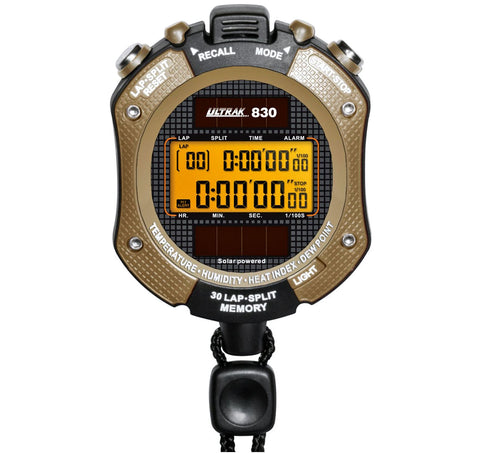 Ultrak 830 Heat Index Watch