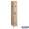 "Image of Salsbury 12"" Wide Single Tier Vented Metal Locker - 1 Wide"