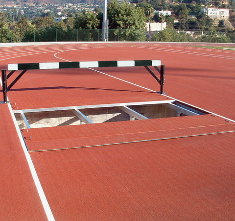 Recessed Aluminum Steeplechase Water Jump Cover