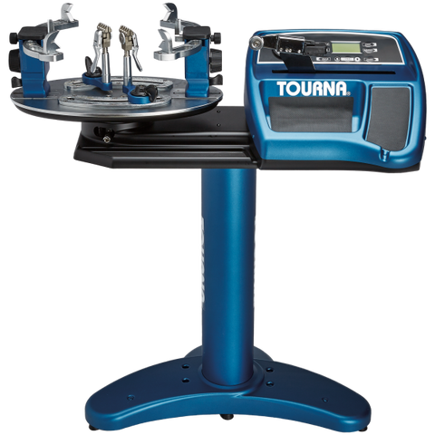 Tourna Precision 800 - Electric with power lift floor stand