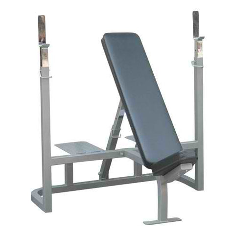 Champion Barbell™ Incline Weight Bench with Spotter Platform
