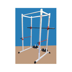 New York Barbells Power Rack With Accessory Pack