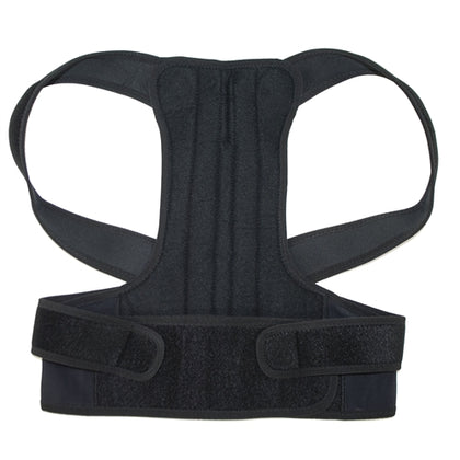 Back and Shoulders Posture Support Brace - Black - Extra Extra Large Size