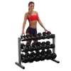 "Image of Body Solid 38"" 3 Tier Dumbbell Rack GDR363"