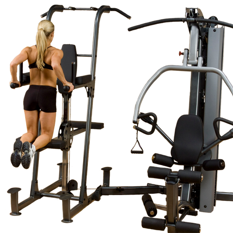 Body Solid Fusion Weight-Assisted Dip and Pull-Up Station FCDWA