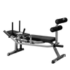 Image of Body Solid Horizontal Ab Crunch with Rubber Grip Plate Package