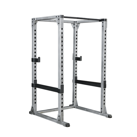 Body Solid Power Rack with Lat Attachment and Flat Bench Package