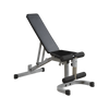 Image of Body Solid Power Rack with Lat Attachment and Flat Bench Package