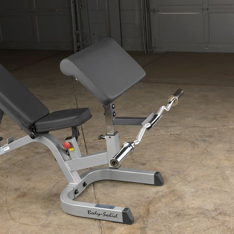 Body Solid Heavy Duty Flat Incline Decline Bench GFID71