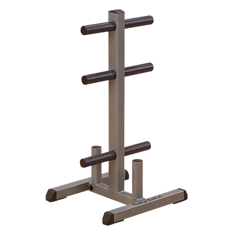Body Solid Olympic Plate Tree and Bar Holder GOWT