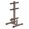 Image of Body Solid Olympic Plate Tree and Bar Holder GOWT