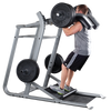 Image of Body Solid Pro Clubline Leverage Squat with Bumper Plates Package