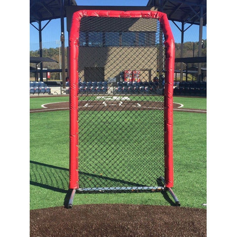 Bullet Series Fast Pitch Softball Screen With Overhead 8' x 4'