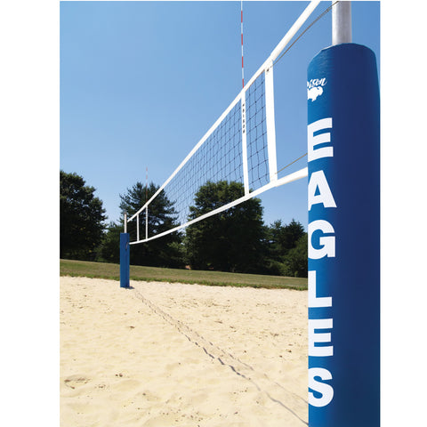 Bison Centerline Elite Beach Volleyball Double Court System
