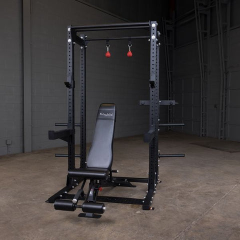 Body Solid Commercial Extended Half Rack Package SPR500BACKP4