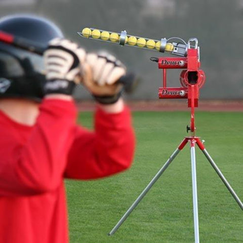 Heater Sports Deuce 75 MPH 2 Wheel Curveball Pitching Machine - Pitch Pro Direct