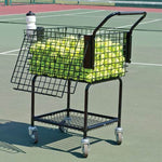 Deluxe Tennis Teaching Cart