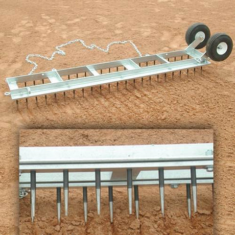 Diamond Digger Field Groomer Top View Side View Field Groomers