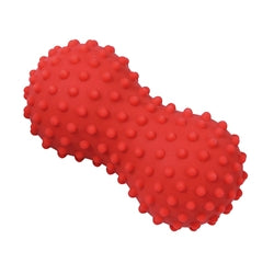 Knob Spiky Massage Roller - 5.5 x 3 Inches - Red