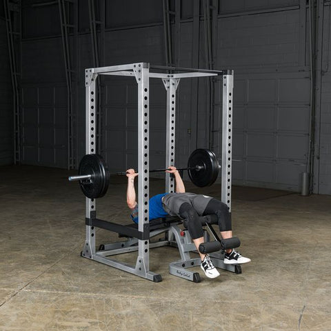 Body Solid Pro Stabilized Power Rack for Bench Press & Squats GPR378
