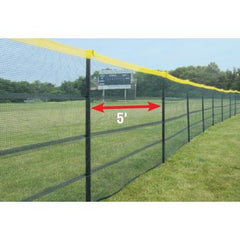Grand Slam™ 5' Portable In-Ground Fencing for Baseball & Softball
