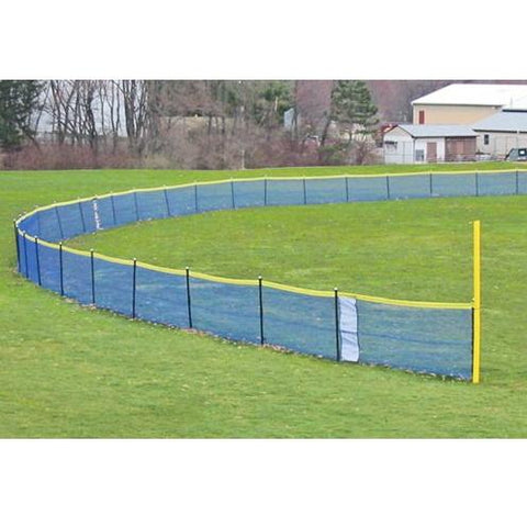 Grand Slam™ Fencing - In-Ground Fencing Kits for Baseball and Softball - Pitch Pro Direct