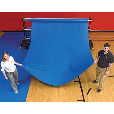 Gym Floor Cover Pre-Cut Rolls By GymGuard®