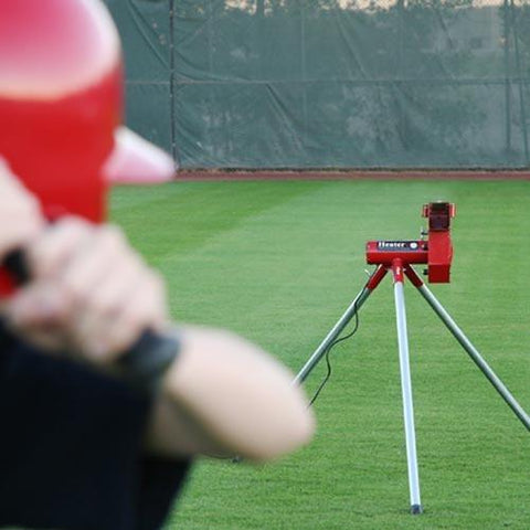 Heater Sports Real Baseball Pitching Machine Training Aid - Pitch Pro Direct