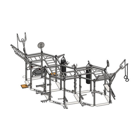 Body Solid Hexagon Triple Package SR-HEXTPLP4
