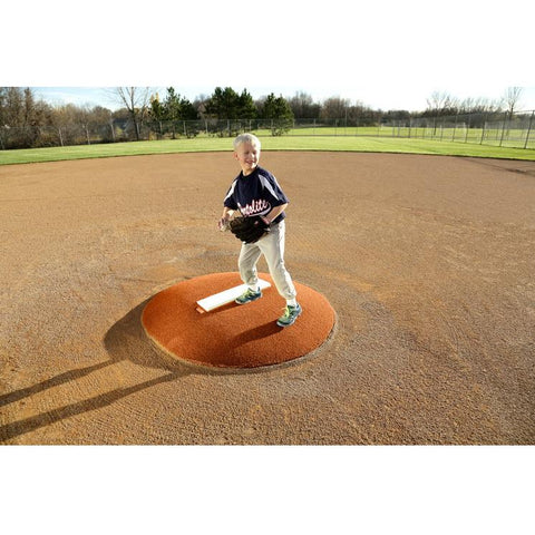"PortoLite 6"" Stride Off Portable Game Pitching Mound For Baseball - Pitch Pro Direct"