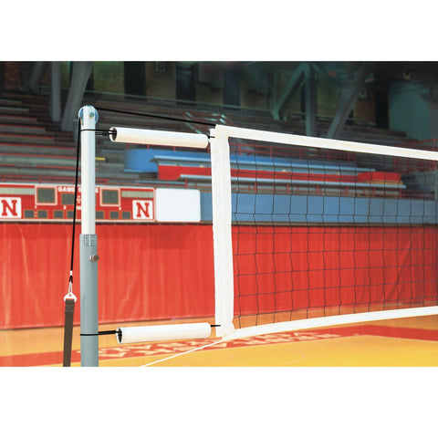 Kevlar Competition Volleyball Net with Cable Covers and Storage Bag - Pitch Pro Direct