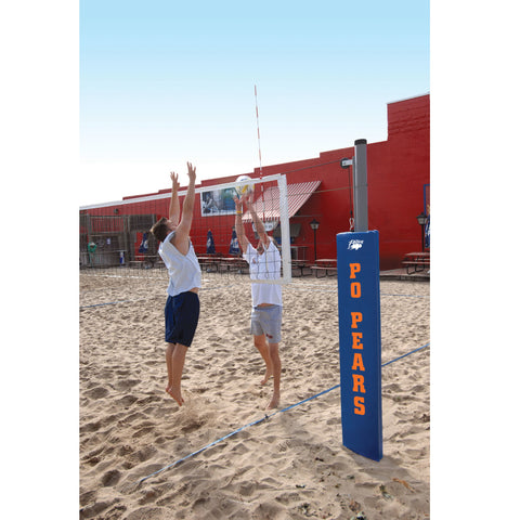Bison Match Point Competition Outdoor Volleyball System without Padding