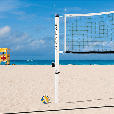 JayPro Mercury Aluminum Beach Volleyball System
