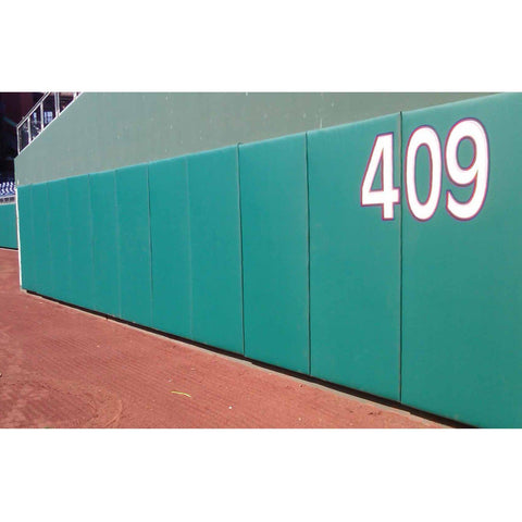 Nissen EnviroSafe® Baseball Outfield Stadium Wall Padding