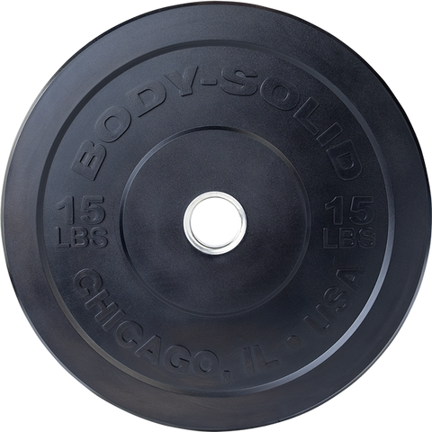Body Solid Chicago Extreme Bumper Plates OBPX