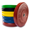 Image of Body Solid Chicago Extreme Colored Bumper Plates OBPXC
