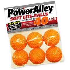 PowerAlley 40 MPH Orange Lite Baseballs