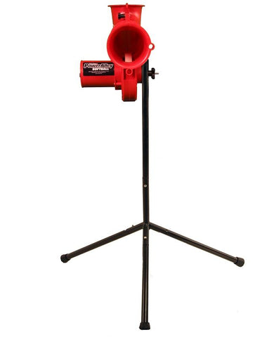 Heater Sports Power Alley Real 11 Inch Softball Machine Front View