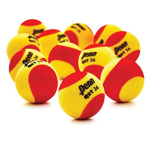 Penn QST 36 Foam Tennis Ball - Dozen Pack
