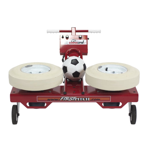 First Pitch Playmaker Soccer Machine