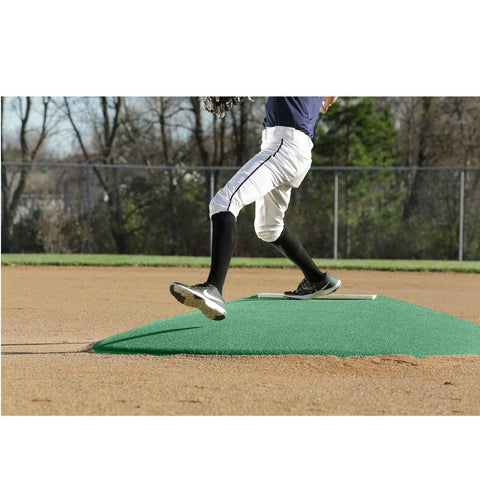 "PortoLite 6"" Little League Full Length Portable Game Pitching Mound"
