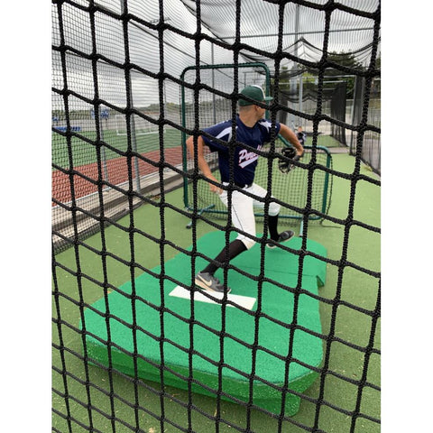 PortoLite Full Wind-Up Two-Piece Portable Practice Pitching Mound