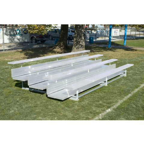Bison Premium Aluminum Portable Outdoor Bleachers - Pitch Pro Direct