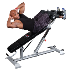 Body Solid Pro Clubline Adjustable Ab Bench SAB500