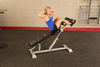 Image of Body Solid Pro Clubline Adjustable Ab Bench SAB500