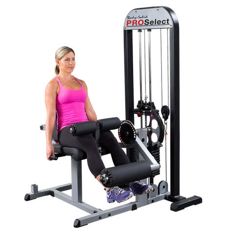 Body Solid Pro Select Leg Ext. and Leg Curl Machine GCEC-STK