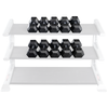 Image of Body Solid Rubber Coated Hex Dumbbell Sets SDRS