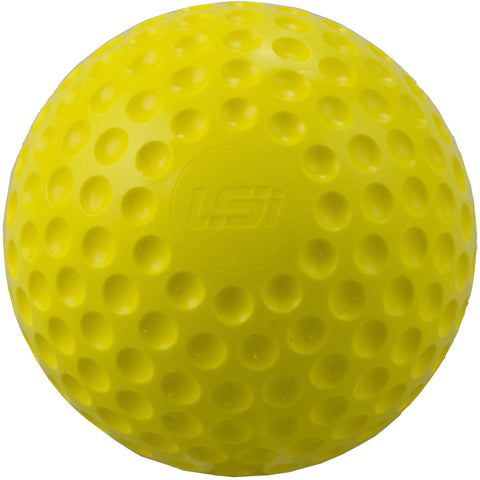 "First Pitch Yellow Dimpled Softballs 11"" Or 12"" - Pitch Pro Direct"
