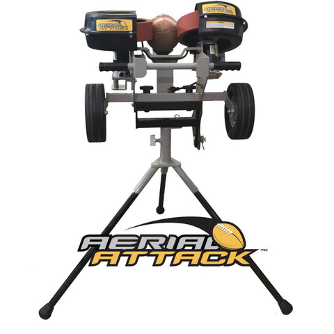 Aerial Attack Football Passing Machine By Sports Attack